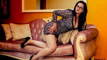 AmberBlassom:n kuuma kamera-show – Nainen sivulla Jasmin