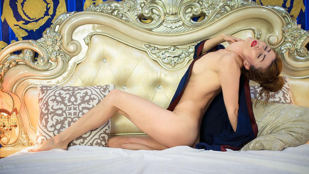 CareenClover:n kuuma kamera-show – Nainen sivulla Jasmin
