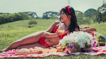 MarieKeller szexi webkamerás show-ja – Lány a Jasmin oldalon